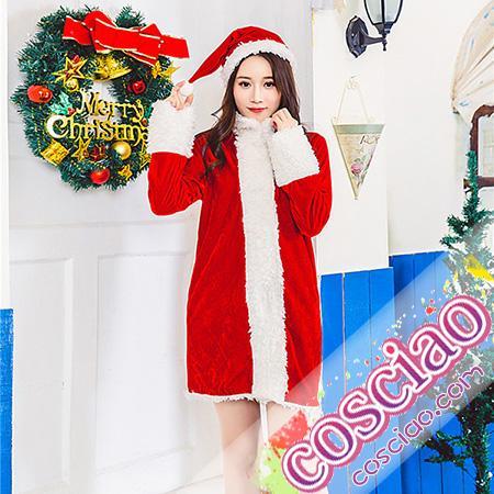 af2911271a4 かわいい サンタコス サンタ衣装 クリスマス 仮装衣装 クリスマスパーティー コスプレ衣装 サンタ帽子送付