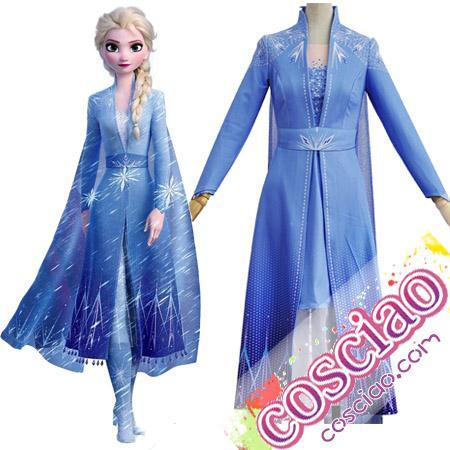 アナ雪2】エルサとアナの新衣装姿 コスプレ衣装やウィッグが最新